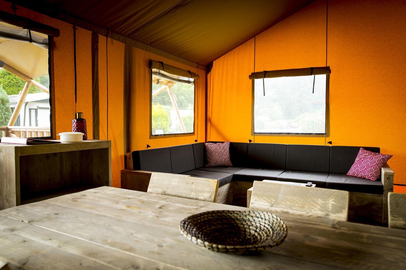 Glamping Lodge 7p.
