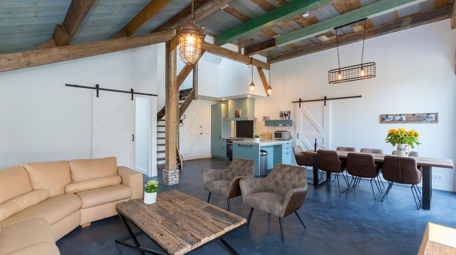 Vakantiehuis - Lepelstraat 18A: 't Blauwtje