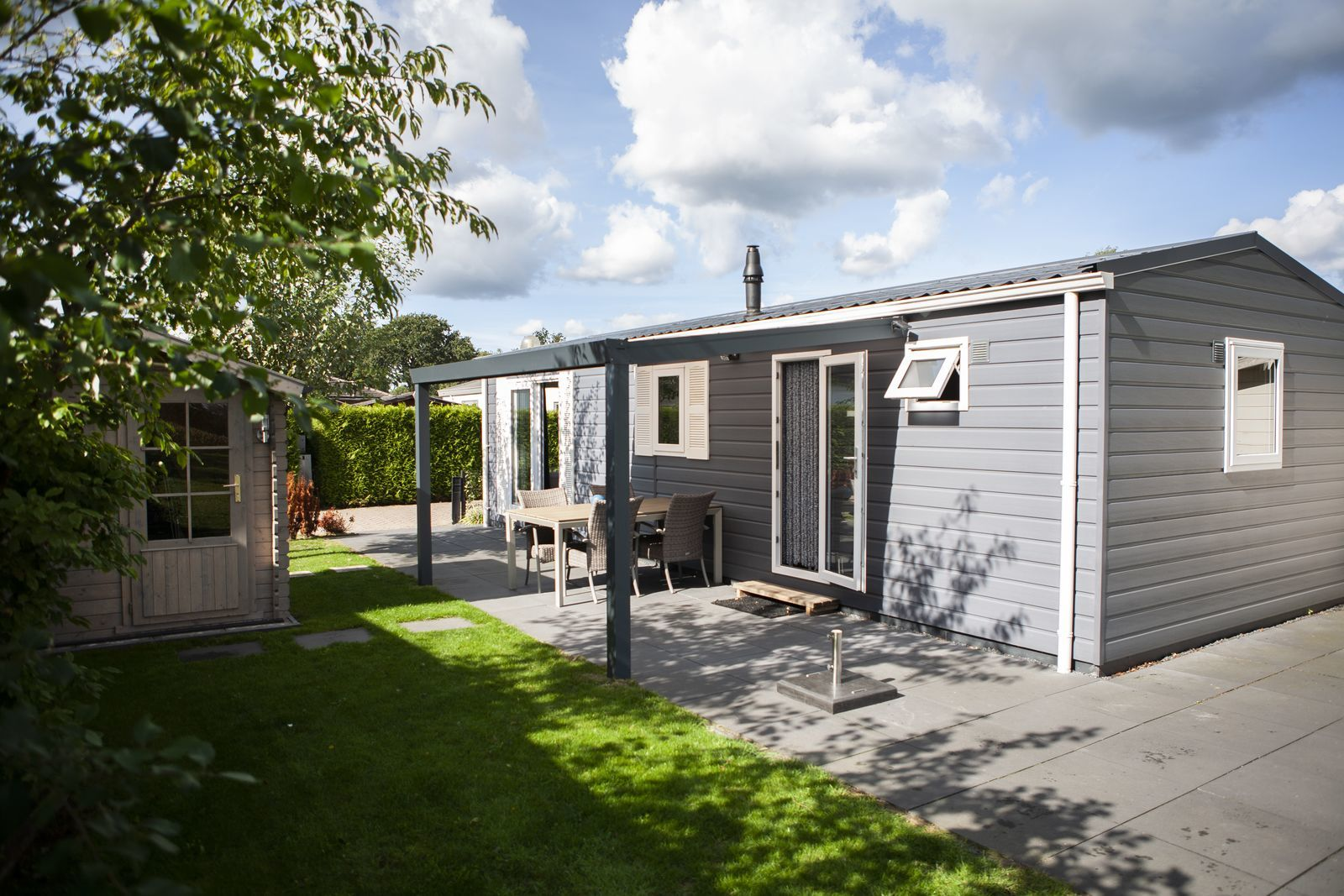 Veluwe lodge for four people