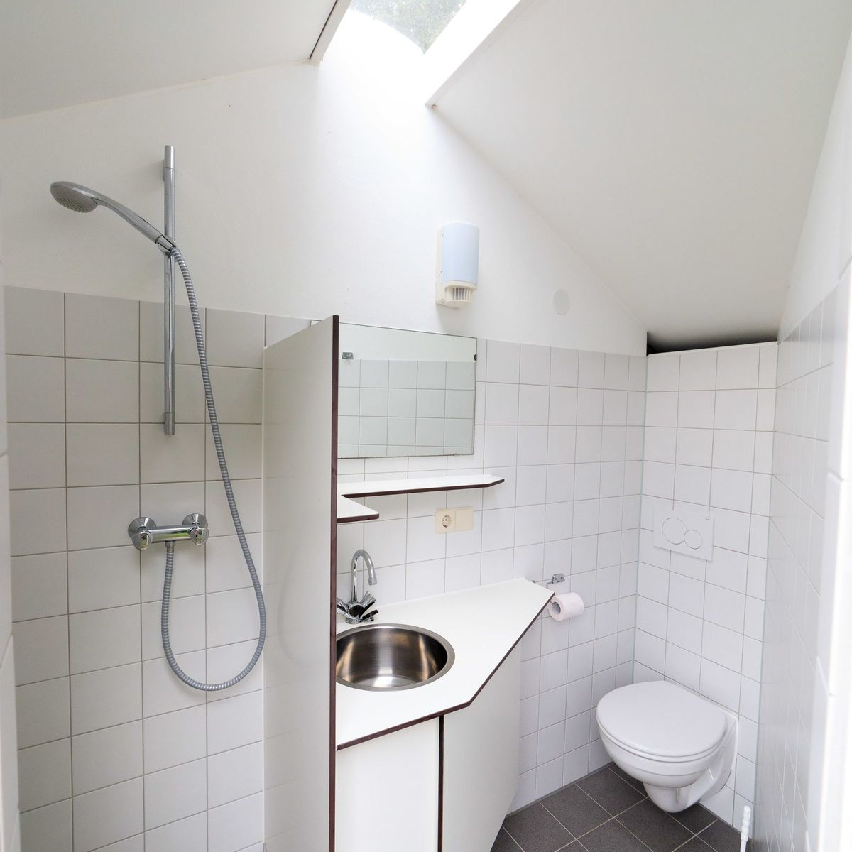 Comfortplaats met privé sanitair