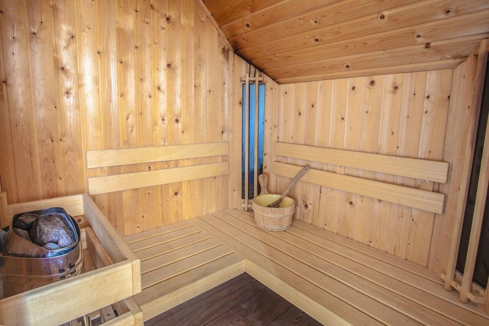 Sauna Bungalow 6 pers.