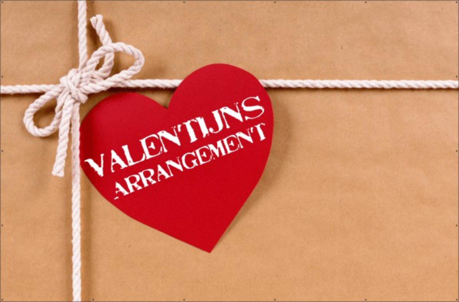 Valentijns-arrangement
